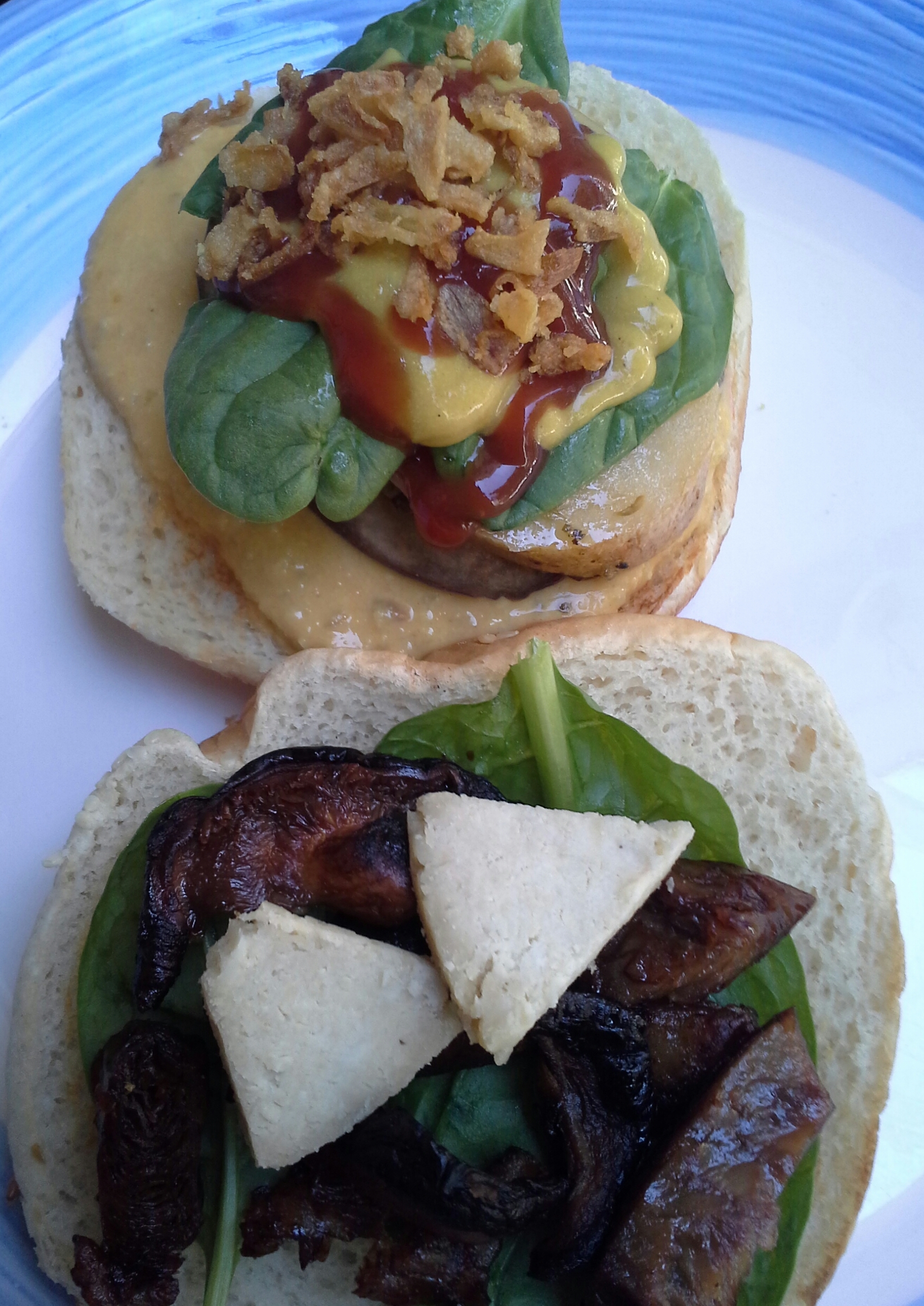 hamburguesadeshitakepatataberenjenayalipiolin